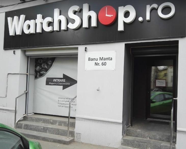 Localizare WatchShop.ro, Banu Manta 60