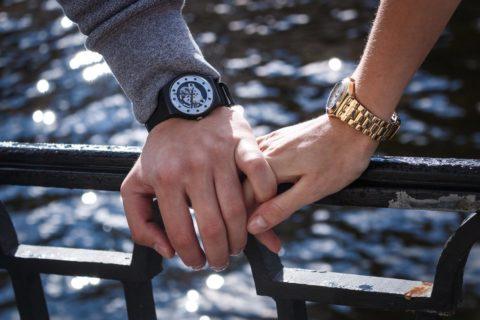 bratara metalica ceas