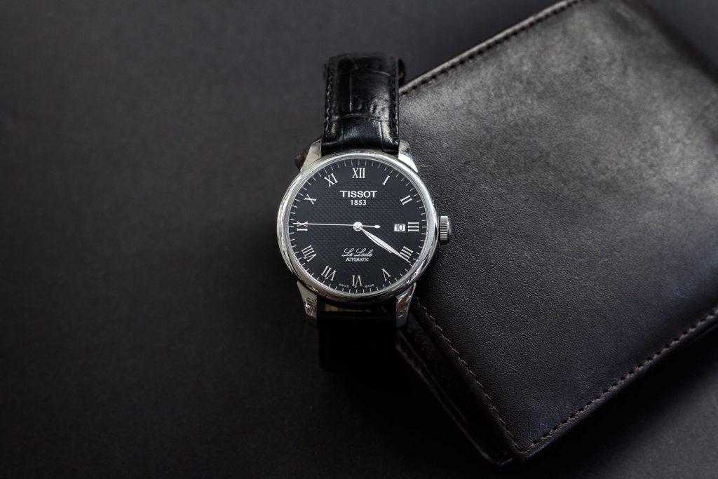 ceas negru tissot