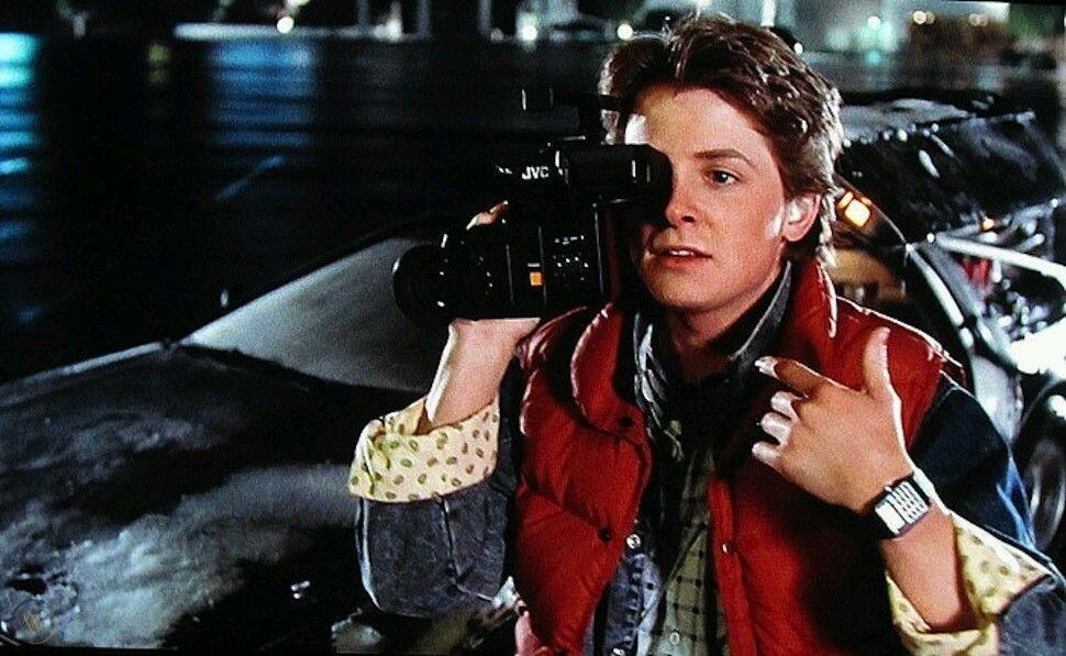 ceas casio film back to the future