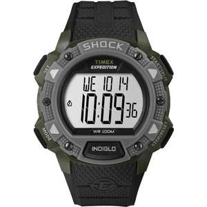 Timex EXPEDITION T49897 Shock Chrono Alarm
