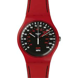 Swatch ORIGINALS SUOR104 Red Brake