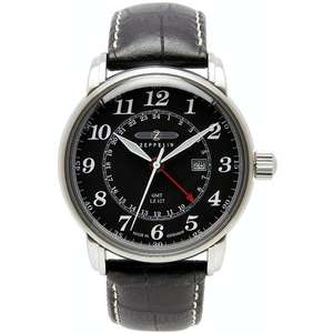 LZ127 COUNT ZEPPELIN 7642-2 Dual Time
