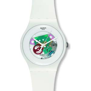 Swatch ORIGINALS SUOW100 White Lacquered