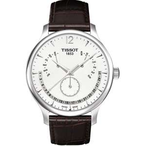 T-CLASSIC T063.637.16.037.00 Tradition Perpetual Calendar