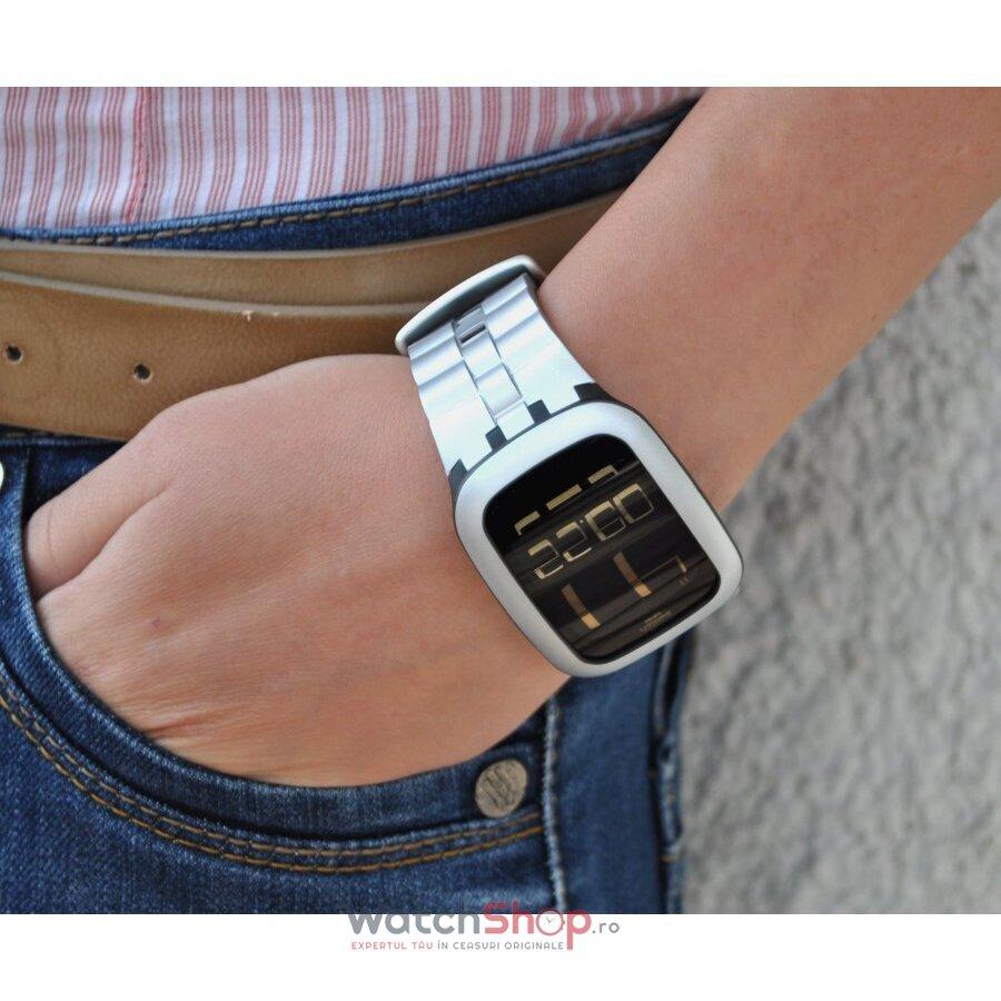 how to adjust swatch digital watch