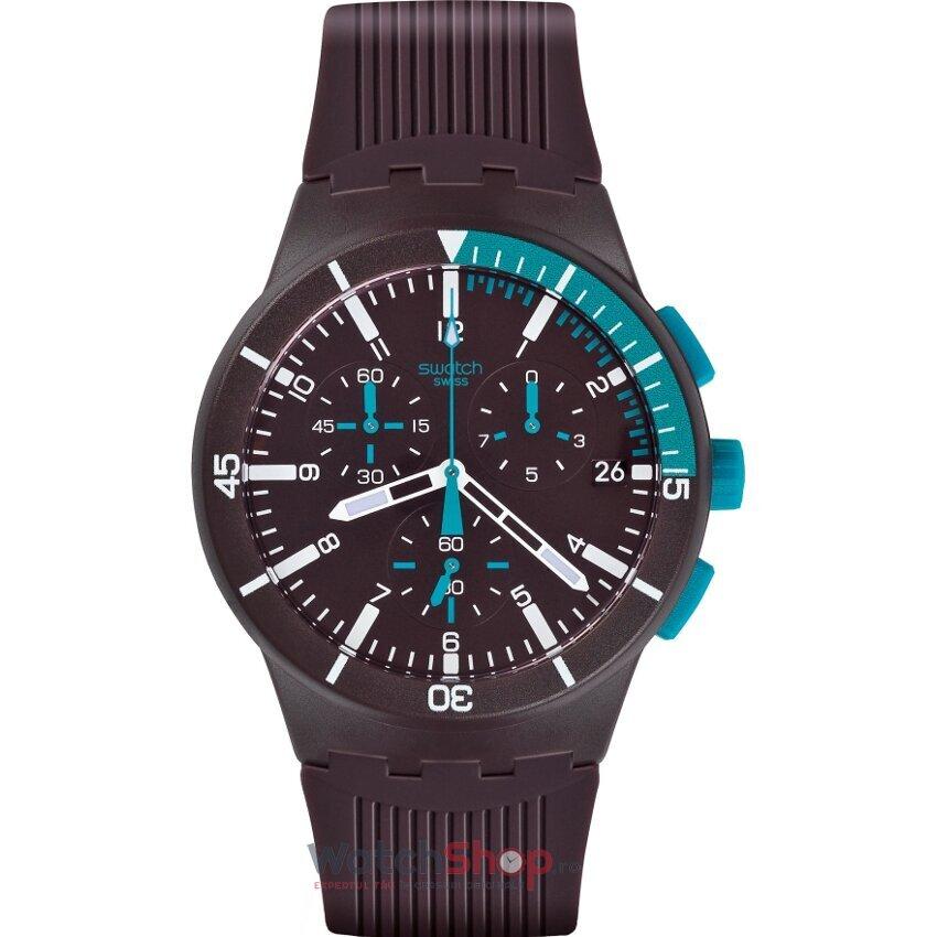 Ceas Swatch Originals Susv400 Purple Power